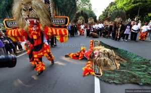 Mahasiswa Indonesia Kenalkan Budaya Jawa Timur di China