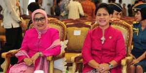 Kunjungan ke Kalsel, Iriana Jokowi Beri Semangat Anak-Anak PAUD