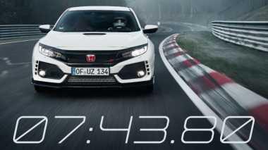 Honda Civic Type R Jadi Hatchback Tercepat di Nurburgring