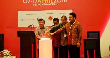 Hari Ini Jusuf Kalla Buka Pameran IIMS 2017