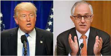 Awal Mei, Presiden Trump Temui PM Australia Bahas Pengungsi