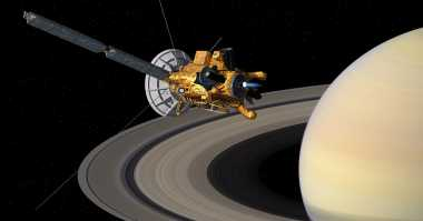 Pesawat Luar Angkasa Cassini Ramai Ditelusur Netizen, Kenapa?