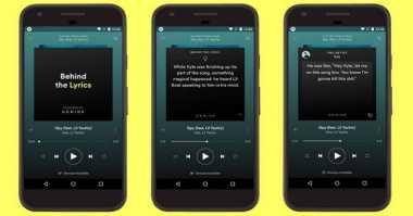 Spotify Tambahkan Fitur Behind The Lyrics ke Aplikasi Android