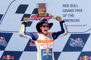 Cuplikan Video Kemenangan Marquez di Austin, Rossi Puncaki Klasemen
