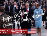 <i>Sssttt</i>... Diam-Diam Donald Trump Sampaikan Pesan Manis di Hari Ulang Tahun sang Istri