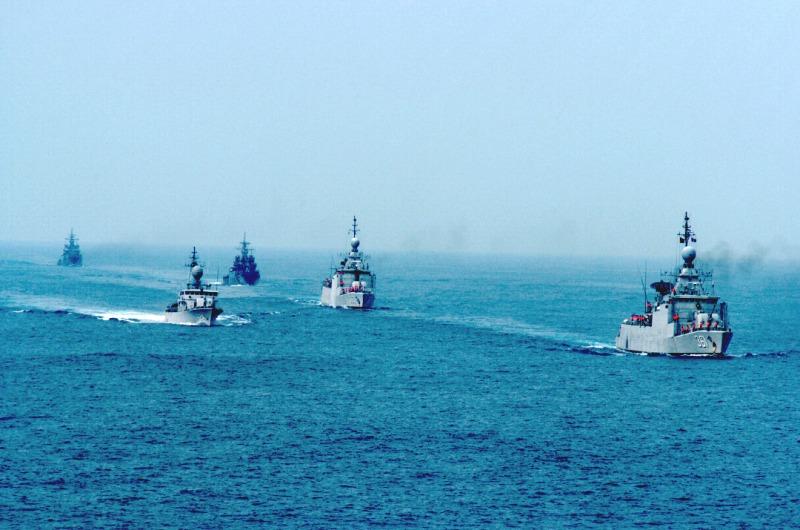 TNI Latihan Besar-besaran di Laut Natuna, Puluhan Kapal Perang Dikerahkan