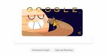 Ini Misi Pesawat Cassini yang Jadi Google Doodle