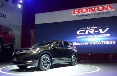 Honda CR-V Turbo Direkomendasikan 'Minum' Pertamax