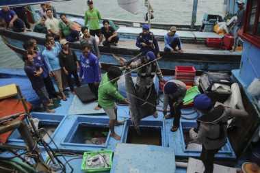\KKP Kembali Tangkap Kapal Pencuri Ikan Berbendera Vietnam\