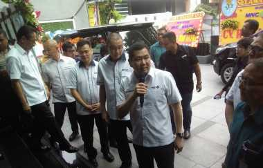 \Hary Tanoe Resmikan Kantor MNC Financial Service di Surabaya\
