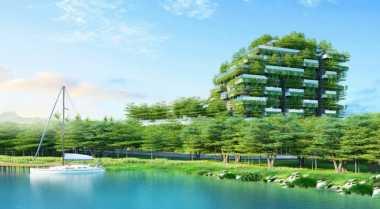 \Segarnya Konsep Hunian di Vietnam, Dikelilingi 50 Ribu Pohon\
