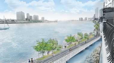 \New York Bangun Jembatan Khusus Sepeda Senilai Rp1,3 Triliun\