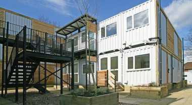 \London Sediakan Apartemen dari Kontainer untuk Masyarakat Tidak Mampu\