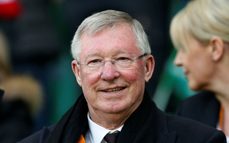 Ternyata! Evra Belum Bisa Move On dari Sosok Sir Alex Ferguson