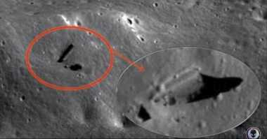 Lorong Buatan di Bulan Diklaim Sembunyikan Kehidupan Alien