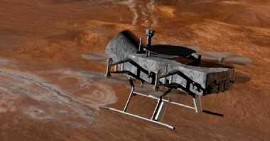 Eksplorasi Bulan Saturnus, NASA Bakal Terbangkan Drone Dragonfly