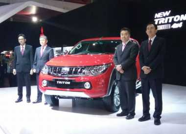 Mitsubishi Indonesia Targetkan Triton Kuasai 60% Pasar