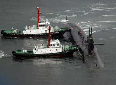 Korut Ancam Akan Tenggelamkan Kapal Selam AS