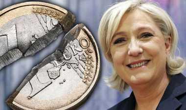 Le Pen Sebut Mata Uang Euro Sudah Mati