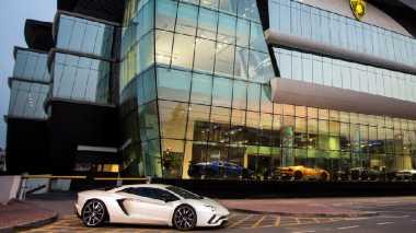Lamborghini Segera Buka Diler Terbesar di Dunia di Dubai