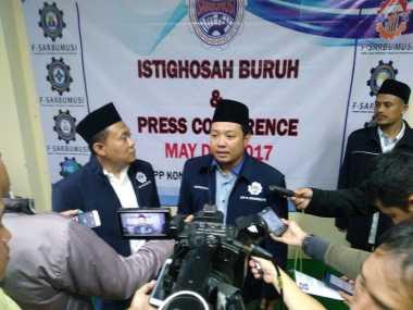 """5.000 Buruh Muslim Rayakan """"May Day"""" di Jakarta"""