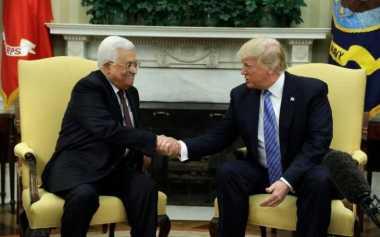 Bertemu Mahmoud Abbas, Trump Janji Bantu Wujudkan Perdamaian Israel dan Palestina