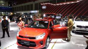 All New Rio Dominasi Penjualan Kia di IIMS