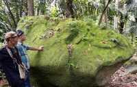 Situs Batu Kendit di Pangandaran, Cikal Bakal Bentuk Lumbung Padi