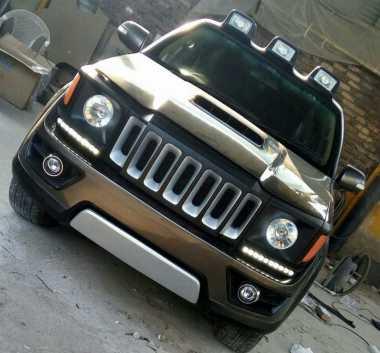 Ubah Tampilan Fortuner Bergaya Jeep Renegade