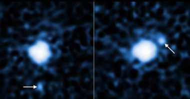 Teleskop NASA Tangkap Bulan yang Mengorbit di Planet Kerdil