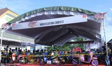 Honda Modif Contest Ajang Gali Kreativitas Bikers