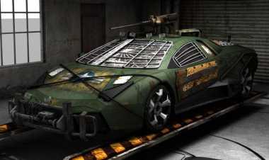 Lamborghini Reventon Di-Make Over Jadi Mobil Pemusnah Zombie