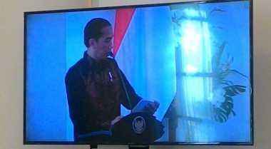 \Geram, Jokowi Bacakan Kementerian dan Lembaga yang Belum Peroleh WTP dari BPK\