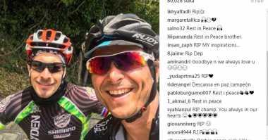 Instagram Nicky Hayden Banjir Ucapan Duka