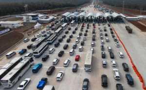 Wacana Penerapan Sistem Ganjil-Genap di Tol saat Mudik Lebaran 2017 Dibatalkan