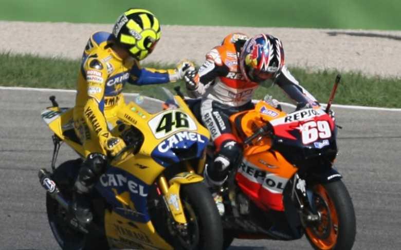 Dramatis! Ini Momen saat Hayden Kalahkan Valentino Rossi dan Raih Gelar MotoGP 2006