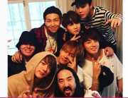 FOTO: Keren! Steve Aoki Siap Kolaborasi dengan BTS