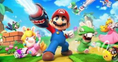 Mario + Rabbids Kingdom Battle Akan Hadir di Nintendo Switch