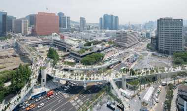 \Hebat! Korea Selatan Sulap Jalan Layang Jadi Skygarden Menawan\