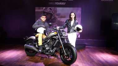 Inden Moge Honda CMX500 Rebel di Jakarta Sampai Agustus
