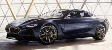 BMW Seri 8 Terbaru Muncul Jelang Peluncuran