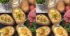 Inspirasi Sarapan Praktis, Kentang Panggang Isi Telur Keju