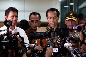 Presiden Jokowi Sampaikan Belasungkawa ke Korban Bom Bunuh Diri di Kampung Melayu