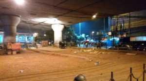 Bom Kampung Melayu, Dua Polisi Alamai Gangguan Pendengaran