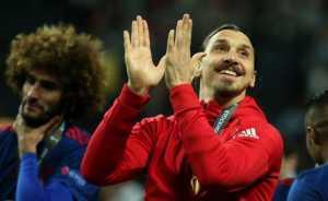 Muncul di Final Liga Eropa, Zlatan Ibrahimovic Luapkan Kegembiraannya