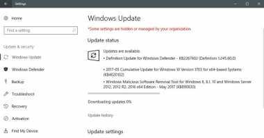 Update Terbaru Perbaiki Masalah Windows 10