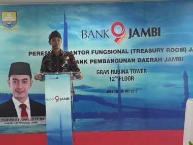 \Perluas Jaringan, Bank Jambi Buka Kantor Fungsional di Jakarta\