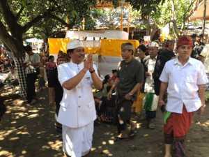 Sudikerta dan Ketua Perindo Bali Hadiri Ritual Ngaben Massal, Ini Foto-Fotonya