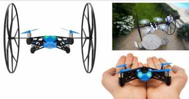 Jajaran Drone yang Bisa Dikendalikan dengan Smartphone (2-Habis)