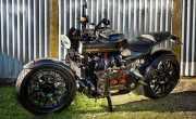 Begini Jadinya jika Sepeda Motor Ditanam Mesin Mobil Sport